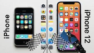 Original iPhone vs. iPhone 12 Speed Test