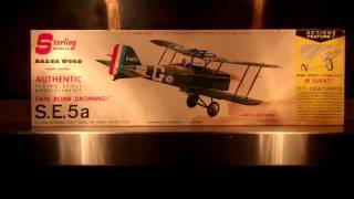 Sterling Balsa Kit 1960's S.e.5a.mp4