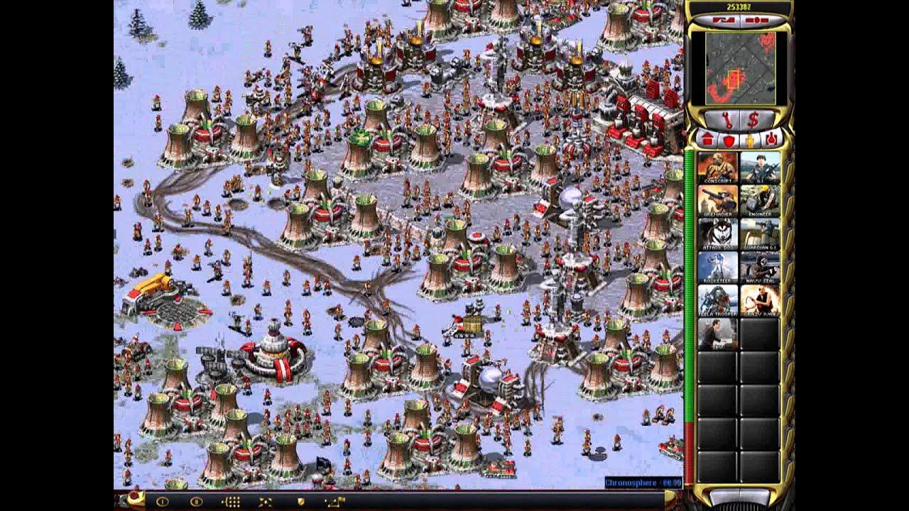 Crazy Ivan and Nuclear Reactor C&C Red Alert Yuris Revenge ...