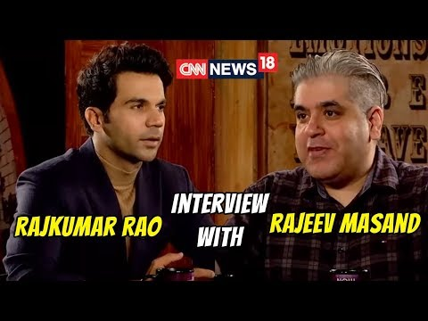 Award winning Rajkumar Rao with Rajeev Masand | CNN News18