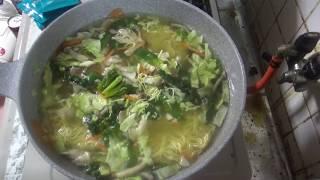 お野菜たっぷりラ王柚子しおラーメン☆ thumbnail