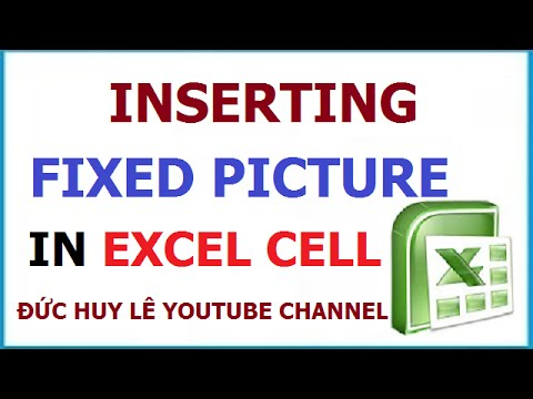 how to add images into excel cell