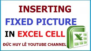 How to insert picture into Excel cells [Video Tutorial]
