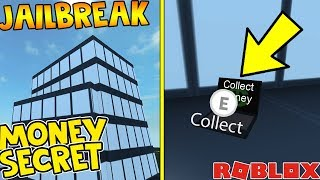 SECRET MONEY SPOT IN JAILBREAK!? (ROBLOX)