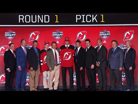 Hischier selected first overall by Devils