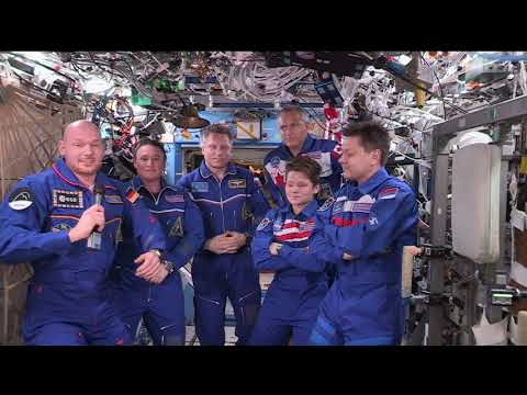 Expedition 57 to 58 Change of Command Ceremony December 18, 2018