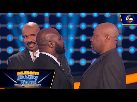 James Toney and Ray Mercer Face Off - Celebrity Family Feud