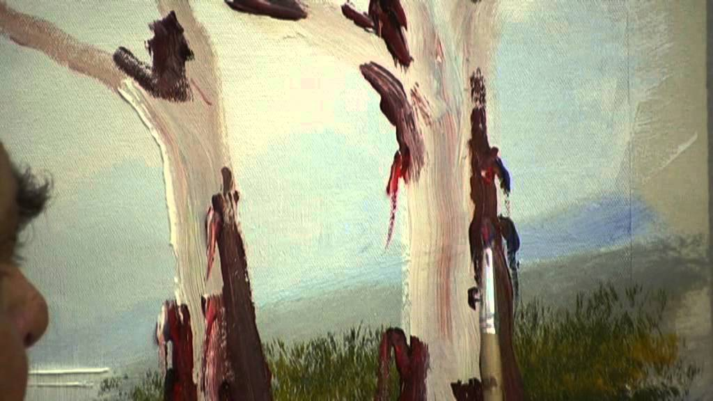 How To Paint A Simple Tree Step By Step
