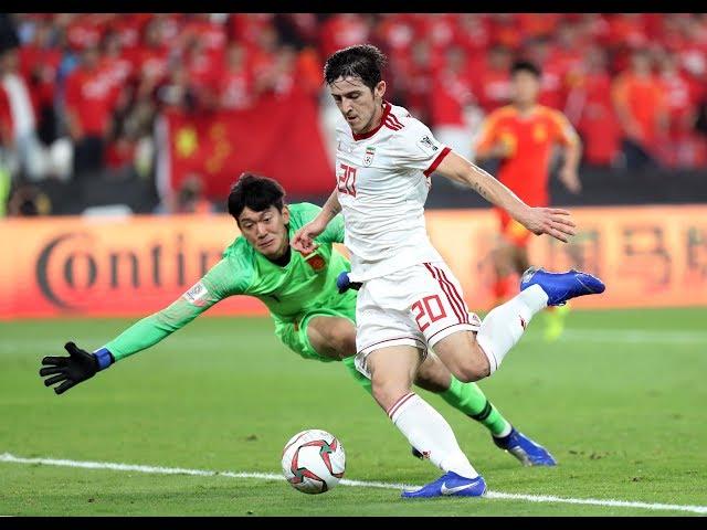 ملخص مباراة إيران والصين