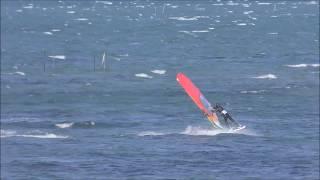 小学校6年生《拓海》の冬休みウインドサーフィン。
