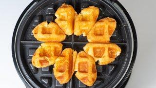 델리만쥬 와플기계 넣어보깅 | waffle maker …