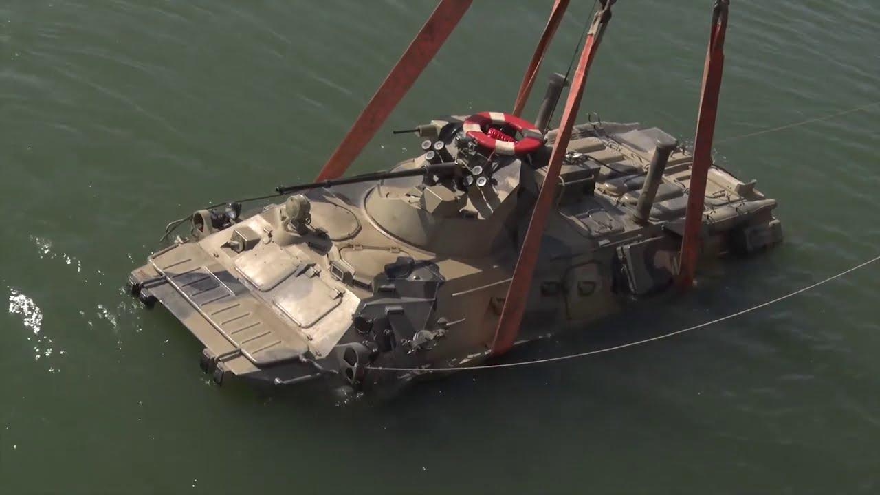 Морские пехотинцы КФл впервые применили новый метод доставки основных сил морского десанта