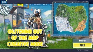 Fortnite Season 7 - Creative Mode Out of Map Glitch