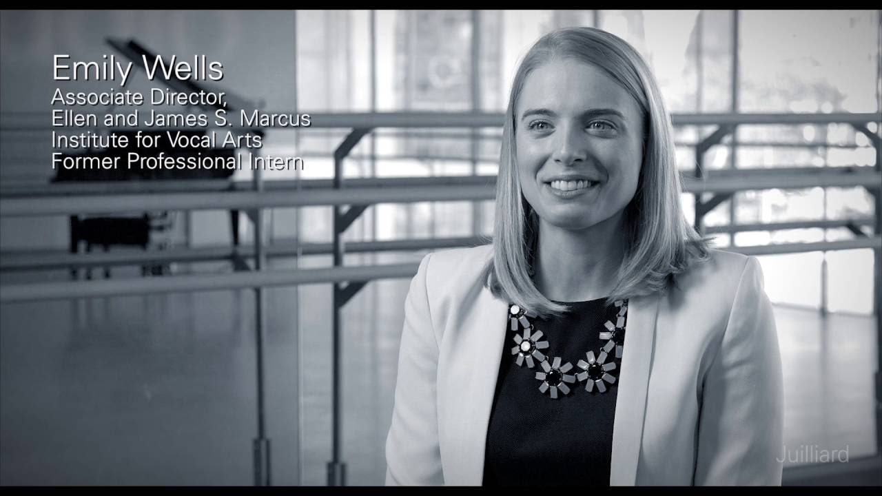 Juilliard Snapshot: Emily Wells on the Professional Apprentice Program