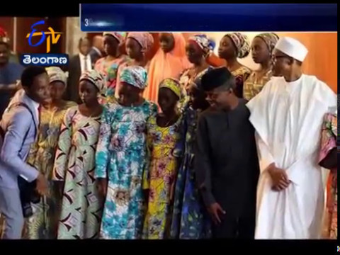 82 Freed Chibok Schoolgirls Arrive in Nigeria's Capital 3 Years After Abduction