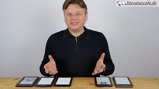 Kindle vs. Tolino: Welchen E-Reader kaufen? (2014/2015)