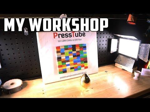 PressTube - My Workshop - Vlog 001
