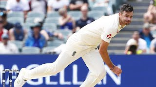 What a spell! Anderson takes five with pink ball brilliance