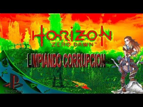 horizon zero dawn  limpiando corrupcion