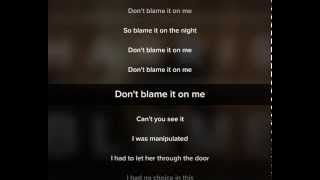 Calvin Harris - Blame ft. John Newman Lyrics Video + Download mp3