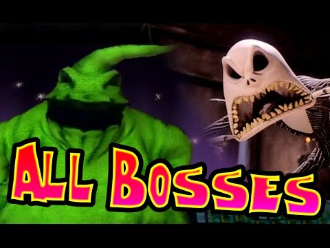 The Nightmare Before Christmas: Oogie's Revenge All Bosses | Final Boss (PS2, XBOX)