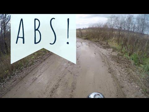 Техника торможения на мотоцикле с ABS