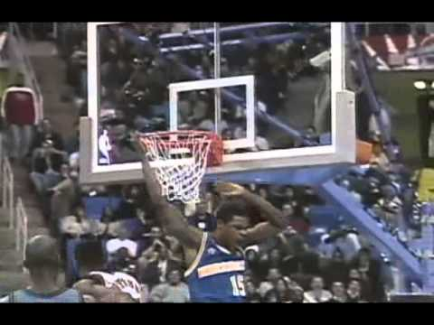Latrell Sprewell Beasts at 1997 All-Star Game