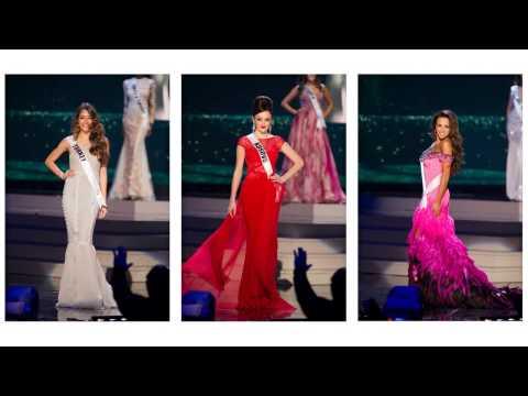 Шоу вечерних платьев на конкурсе Мисс Вселенная 2015
