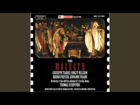 Macbeth: Act III Scene 2: Che Fate Voi, Misteriose Donne? (Macbeth)