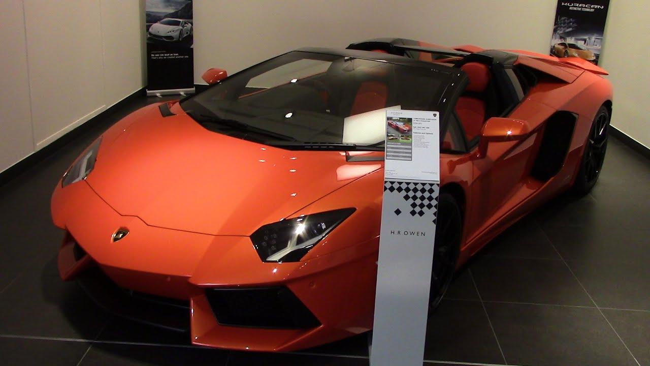 Lamborghini Stockport New Showroom X2 Aventador X2