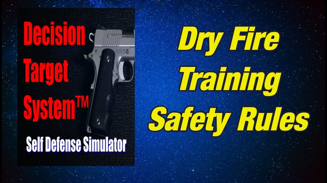 DRY FIRE TRAINING SAFETY RULES_210416