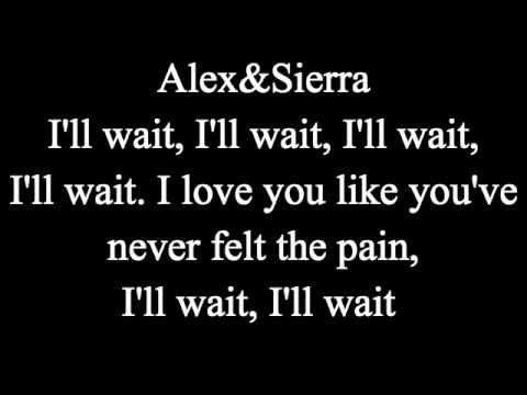 Little do you know- Alex and Sierra (Karaoke)