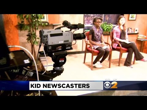 Great Neck Middle School Students Present Daily Newscast