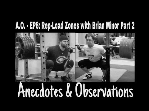 Anecdotes & Observations - Ep6 - Rep-Load Zones with Brian Minor P2