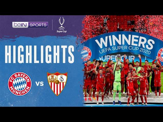 Bayern Munich 2-1 Sevilla | UEFA Super Cup 2020 Match Highlights