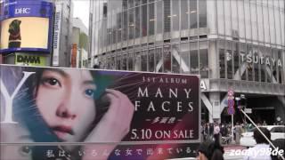 "JY (知英 ジヨン) / Album ""Many Faces〜多面性〜"" 広告トラック."
