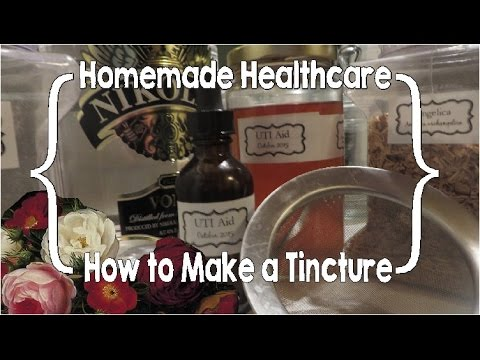 How To Make An Herb Tincture Or Why Good Women Buy Cheap Vodka