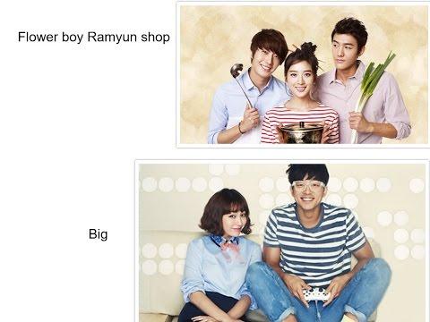 Korean TV Show Review of Flower boy Ramyun Shop & Big