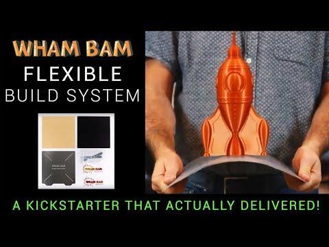 Wham Bam Flexible Build System Vs Creality Cmag Vs Buildtak Flexplate