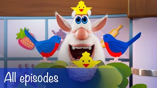 Booba - All Episodes Compilation + 15 Food Puzzles - Cartoon for kids