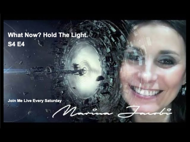 Marina Jacobi - What Now?  Hold The Light  S4 E4 Live Webinar 1 /23 /21