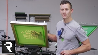 How To Screen Print on Moisture Wicking Performance Garments by Hanes