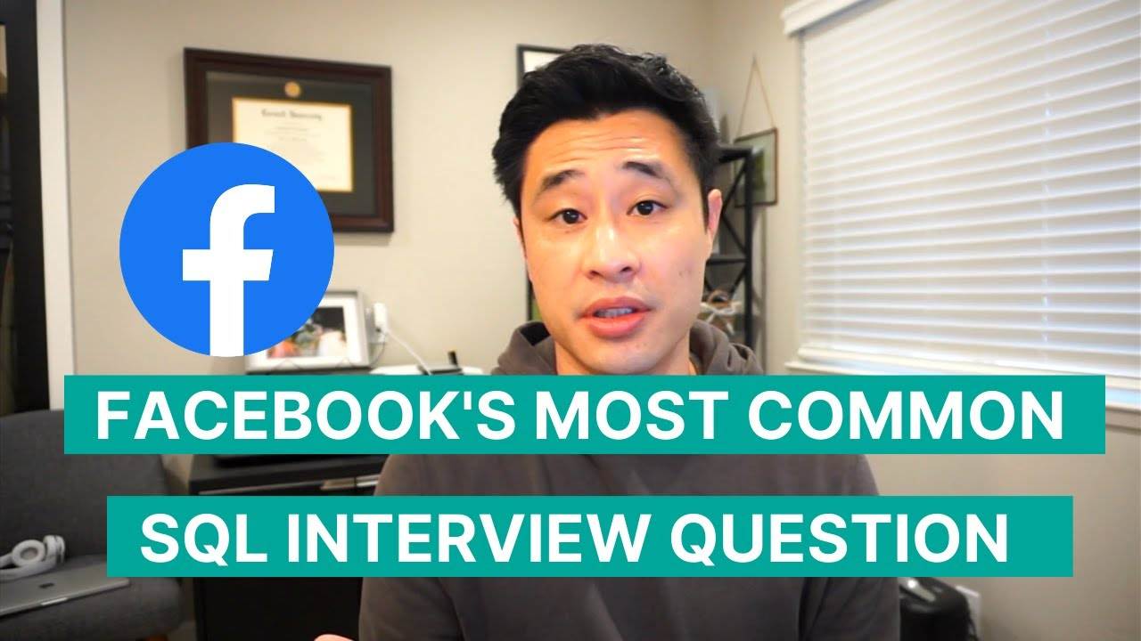 Facebook's Most Common Data Science SQL Interview Question [2021 Interview Question and Answer]