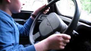 УАЗ -первый урок вождения