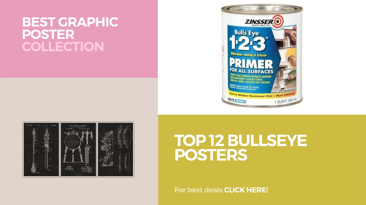 Top 12 Bullseye Posters // Best Graphic Poster Collection - YouTube