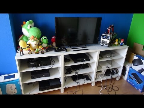 All Of My Video Game Consoles! (3/14/2016)