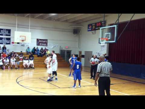 Amelia Academy Varsity Basketball 2013 Vs. Southampton Academy Pt. 2