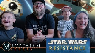 First Look Trailer - Star Wars Resistance | Disney- REACTION AND REVIEW!!!
