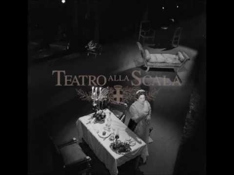 Tosca (act II) - di Stefano, Tebaldi [1959, La Scala]