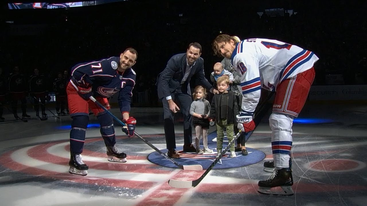 info for bc951 50dde Columbus honors Rick Nash two days after announcing retirement